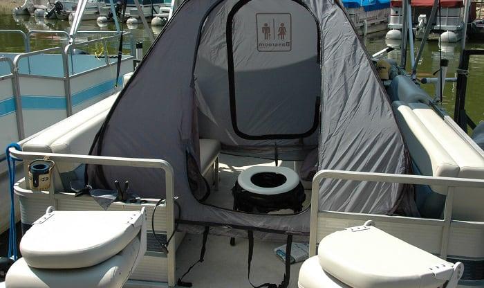 best portable toilet for pontoon boat