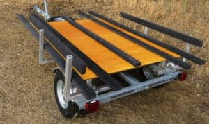 best wood for boat trailer bunk
