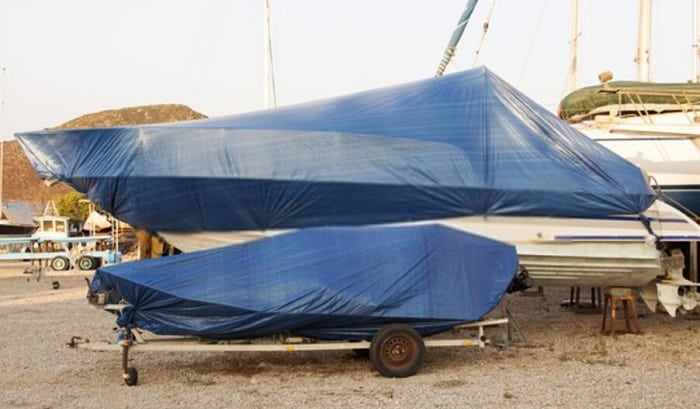 best boat cover support system