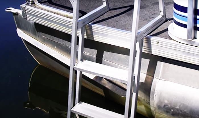 best pontoon boat ladder