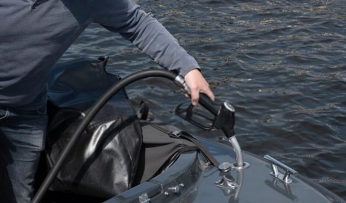 How-do-you-dispose-of-old-gas-from-a-boat
