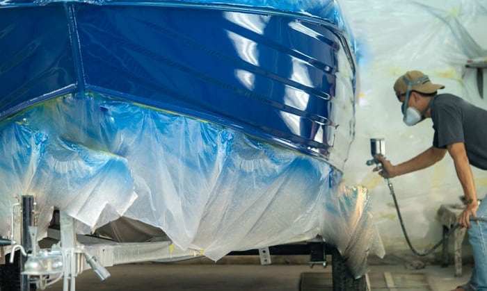 how much does It cost to paint a boat