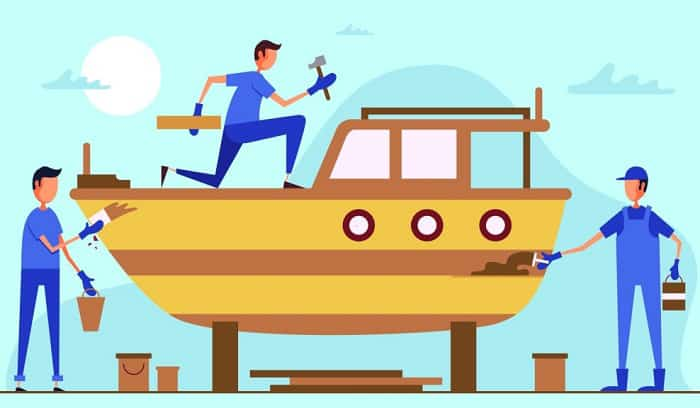 how to waterproof wood for a boat