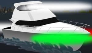 what color is on the starboard side of a boat